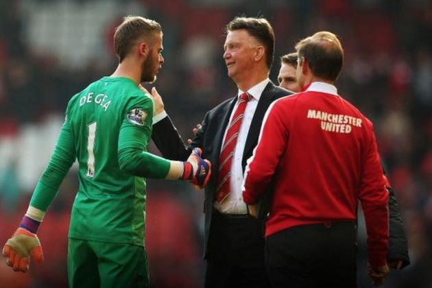 David De Gea-Louis Van Gaal